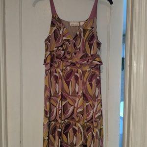 DKNY sheer dress sz m